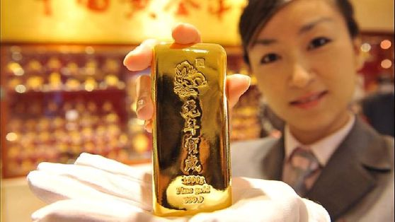 Chinese gold buying